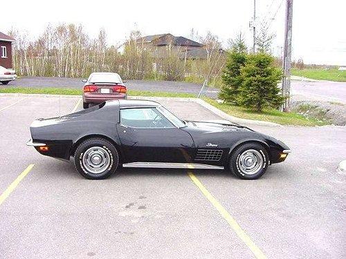 1971 corvette registry - build numbers 04001 - 08000